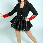 MILITARY JACKET AND SKIRT