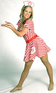 CANDY STRIPE NURSE