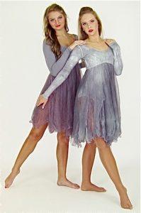 SMOKEY TATTERED DRESSES