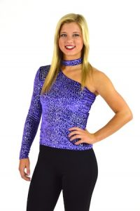 PURPLE SPARKLE TOP