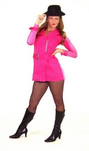 BRIGHT PINK TRENCH COAT