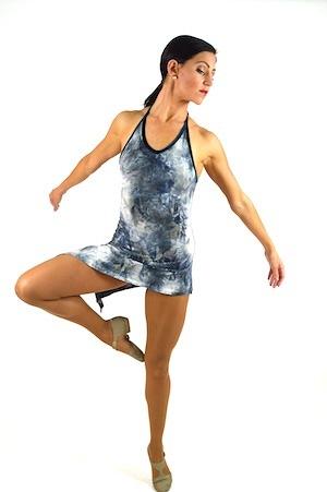 3044e120e1e4 GREY WATERCOLOR DRESS | The Costume Closet