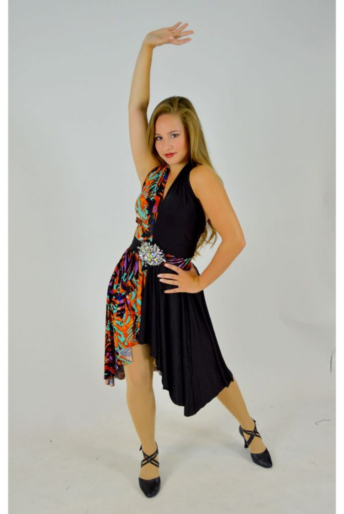 high low halter dress with belt the costume closet