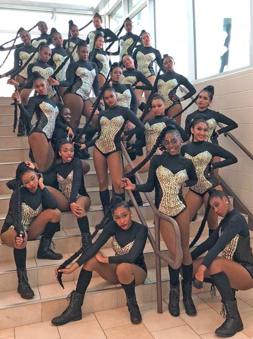 North Crowley dance team