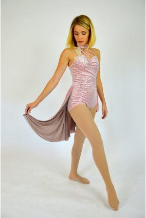 e9beca88acda ROSE GOLD SEQUIN DRESS | The Costume Closet
